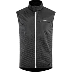 Craft Urban Run Body Warmer Herren black/silver reflective